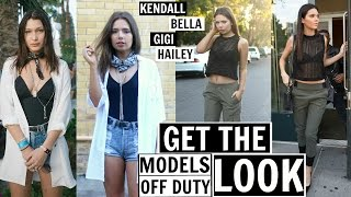 Get The Look - Models Street Style Steal! Kendall Jenner, Gigi Hadid etc