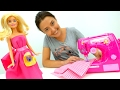 Видео для детей: #ВЕСЕЛАЯШКОЛА Капуки Кануки! Платье для #БАРБИ и мультик #СМАРТА