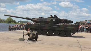 Bundeswehr Havelbiwak des Panzerpionierbataillons 803 aus Havelberg