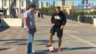 Ничего себе! Футбольный фристайл от Дмитрия Карпова 2