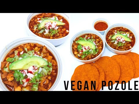 EASY MEXICAN VEGAN POZOLE