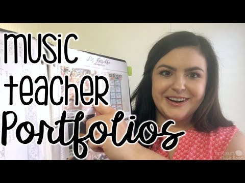 Building a Music Teacher Interview Portfolio