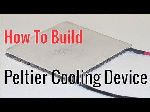 How To Build A Peltier/TEC Cooling Device (Thermoelectric Cooler)