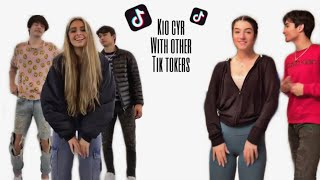 Kio Cyr with the hype house and other tiktok'ers cute moments | 1080p