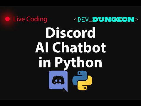 Live Coding: Discord AI Chat Bots In Python