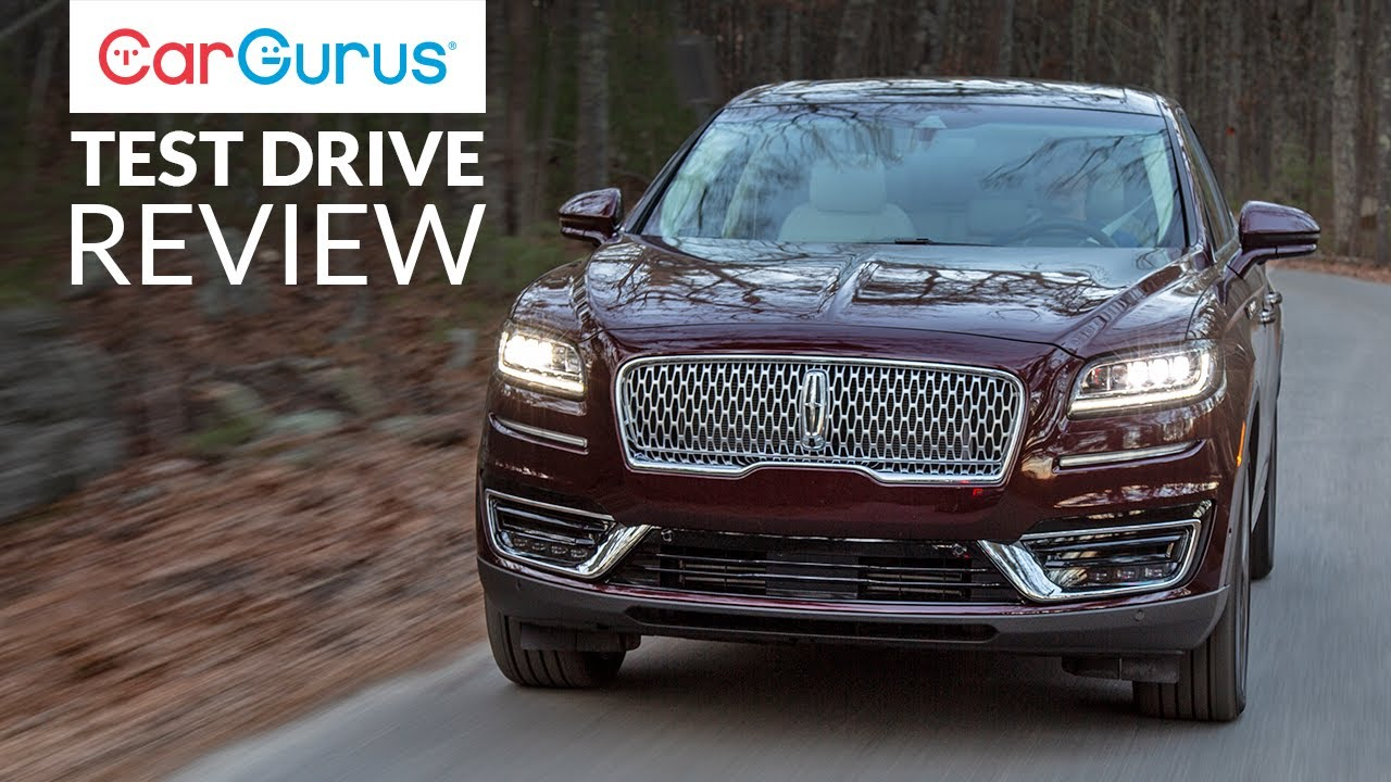 2019 Lincoln Nautilus Cargurus Test Drive Review Youtube