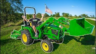 I BOUGHT MY FIRST TRACTOR!!! (I Crashed)