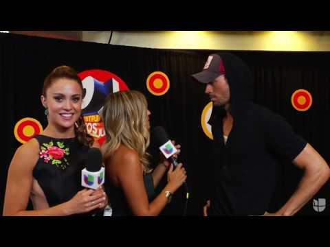 Enrique Iglesias Backstage Interview Premios Juventud 2016