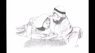 Speed Drawing~The Birth Of Jesus