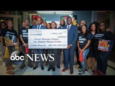 Donnie McClurkin - Wow did you see this? Church saves up to pay off college students' debts