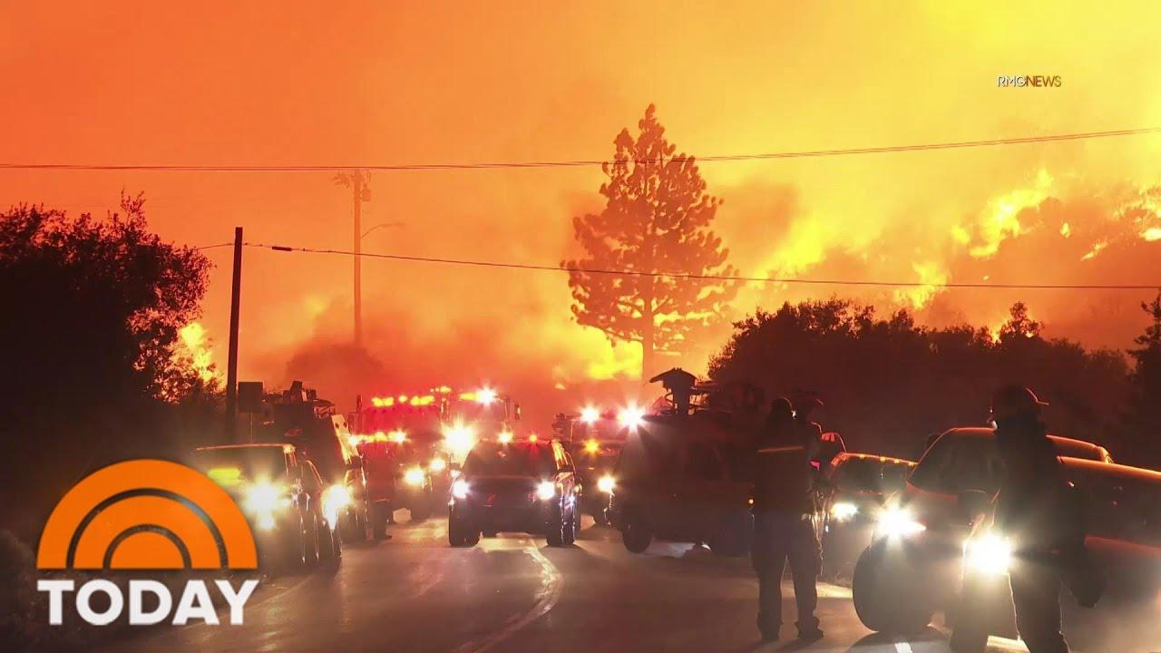 Heat Wave Threatens To Worsen California Wildfires | TODAY
