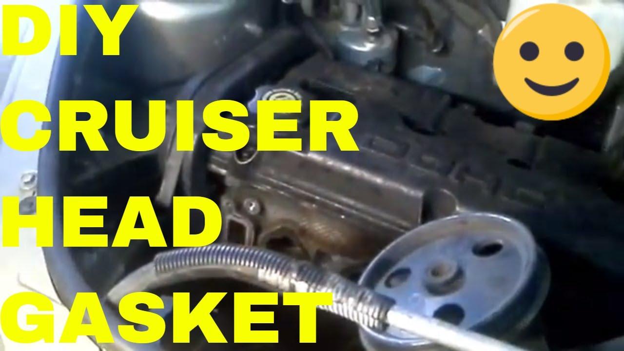 Pt Cruiser Engine Head Gasket Timing Belt Motor Mount And 2008 Chrysler Diagram Removal