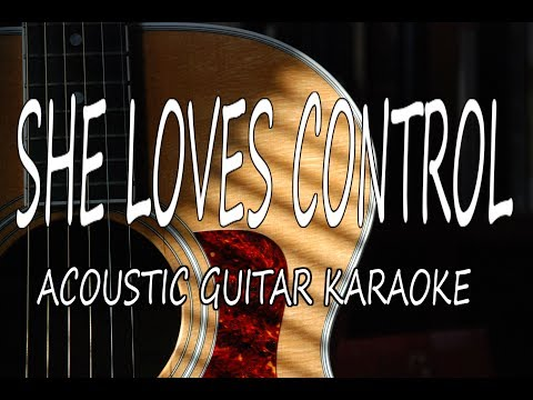 Camila Cabello - She Loves Control (Acoustic Guitar Karaoke)