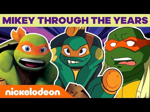 Mikey Through The Years | Rise of the TMNT | Nick