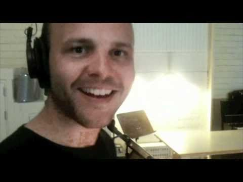 Bryan Rice recording 'There for you' in Simlish