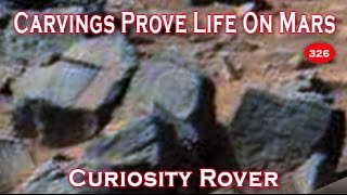 Prior Life On Mars Proven By Carvings & Stonework