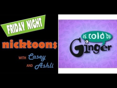 Friday Night Nicktoons Podcast: As Told by Ginger