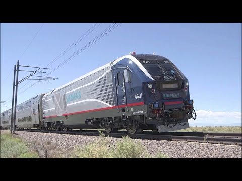 Raw Footage Of Siemens Charger SC-44 4601 Cummins QSK95 Testing @ The TTCI In Pueblo, CO (125 MPH)