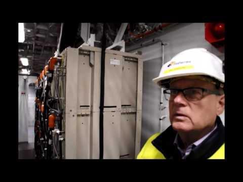Finlands första hybridfärja Elektra drivs med el