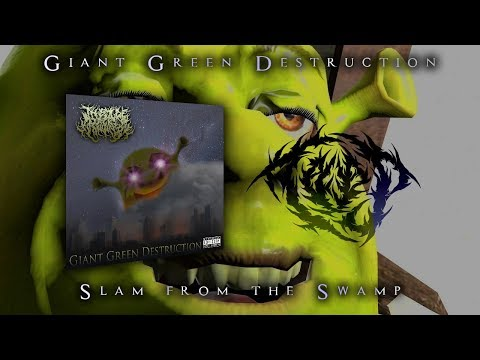 THE OGRE PACKET SLAMMERS - GIANT GREEN DESTRUCTION [OFFICIAL ALBUM STREAM] (2019) SW EXCLUSIVE