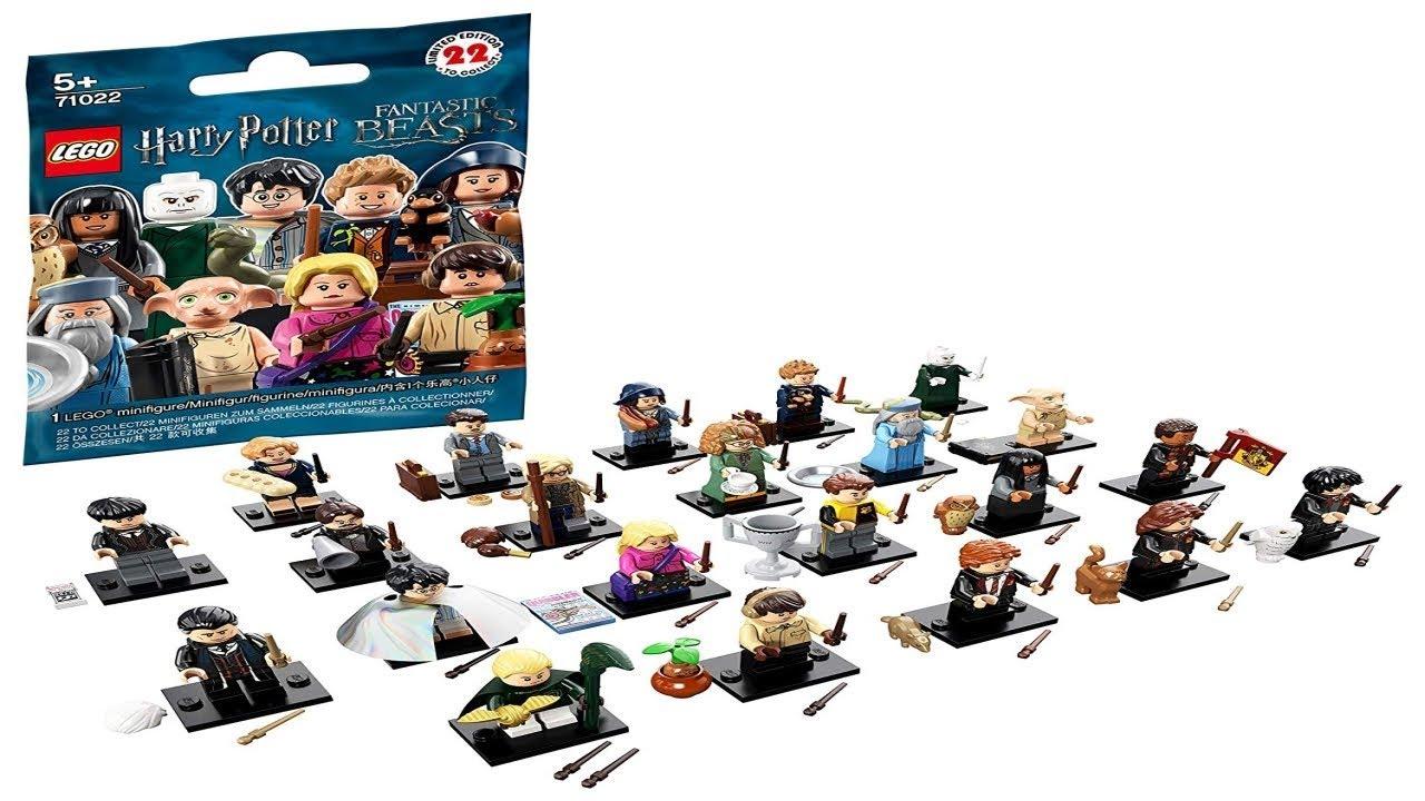 Lego Instructions Lego Minifigures 71022 Harry Potter And