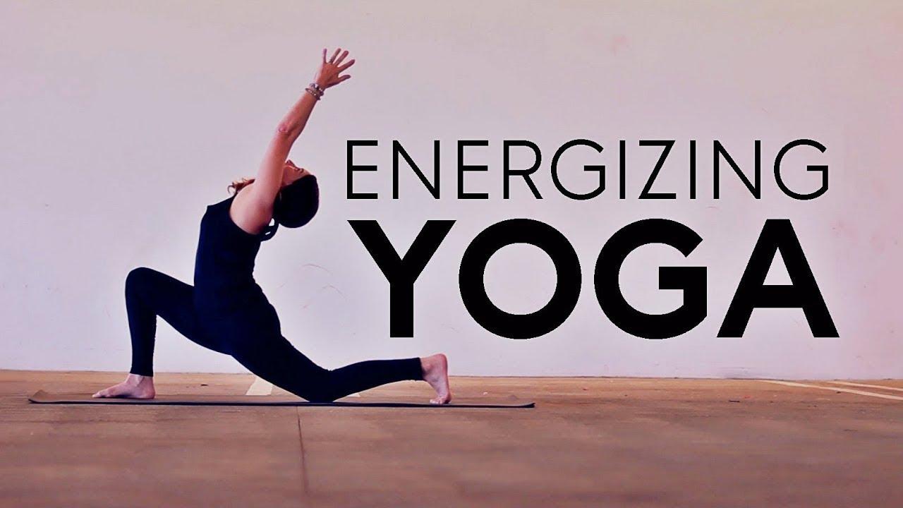 20 Minute Hatha (Energizing Yoga)   Fightmaster Yoga Videos