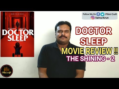 Doctor Sleep (2019) Movie Review in Tamil by Filmi craft Arun | Mike Flanagan | Ewan McGrego