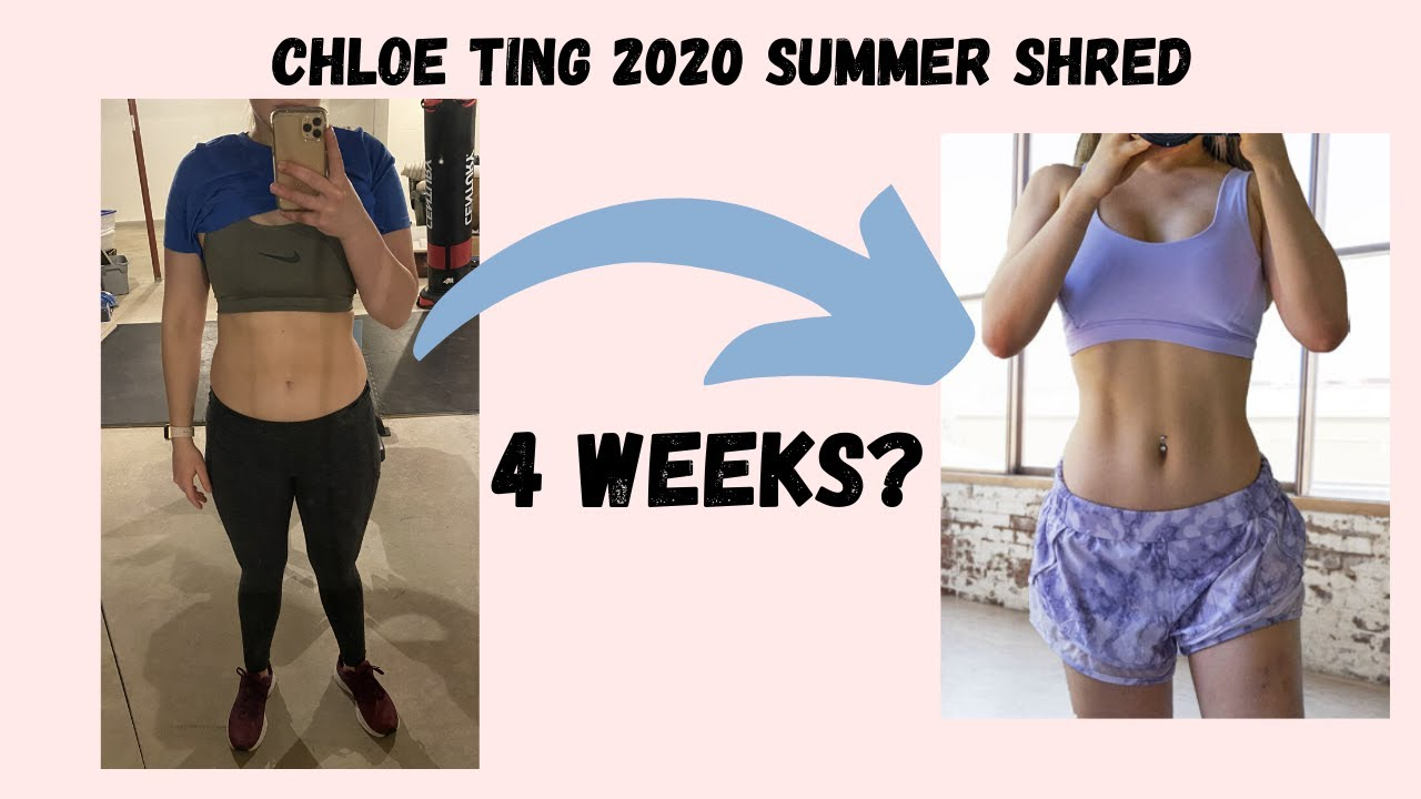 I Tried Chloe Ting's 2020 Summer Shred: Week 4 Results ...