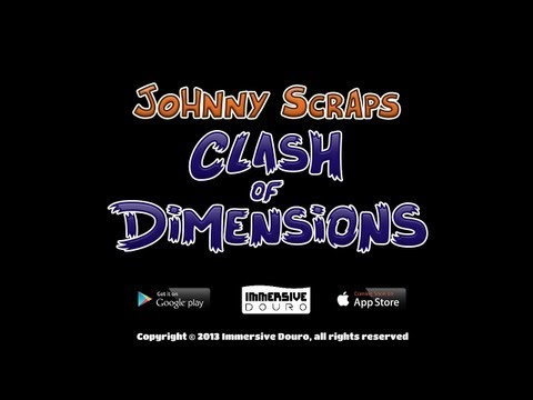 Johnny Scraps: Clash of Dimensions Teaser Trailer