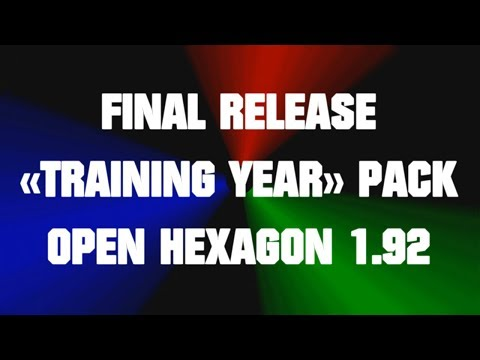 """Open Hexagon 1.92 - Final Release Of """"Training Year"""" Pack"""