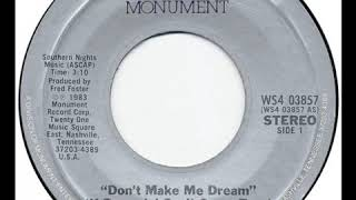 Connie Smith - Dont Make Me Dream (If Dreamin Cant Come True) YouTube Videos