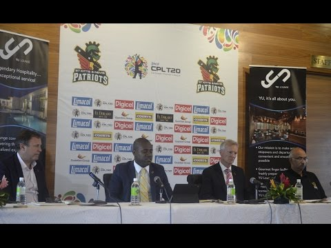 CPL ST KITTS-NEVIS PATRIOTS PRESS CONFERENCE