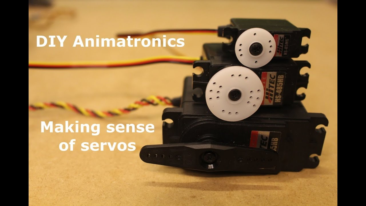 Diy Animatronics Episode 5 Making Sense Of Servos