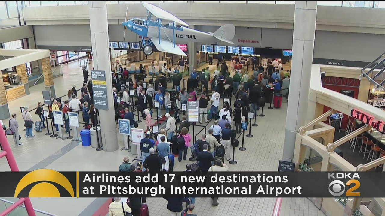 Airlines Add 17 New Pittsburgh International Airport Destinations