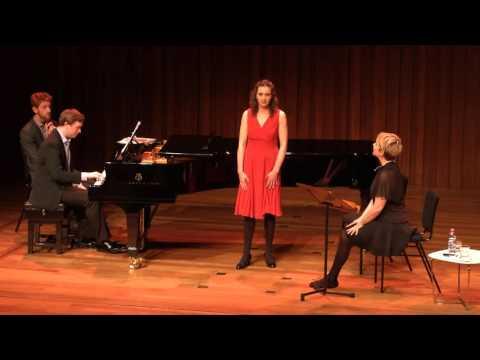 Guildhall Masterclass: Joyce DiDonato Vocal Masterclass - Eliza Safjan