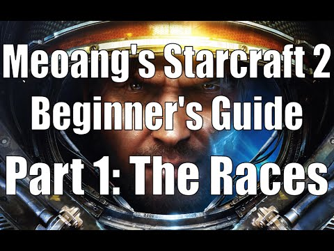 Meoang's Starcraft 2 Beginner's Guide - Part 1: The Races