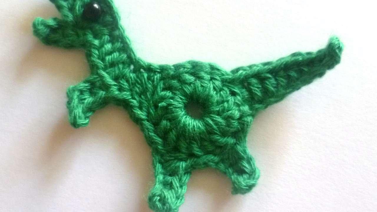 How To Make A Cute Crochet Dinosaur Diy Crafts Tutorial