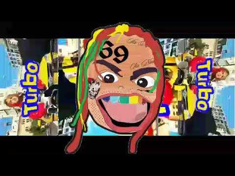 6ix9ine - Turbo -ft. Lil Pump (CLEAN) Version