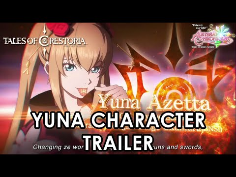 [iOS, Android] Tales Of Crestoria - Yuna Character Trailer (English)