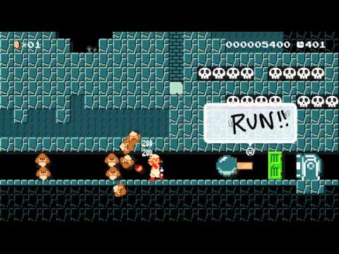 Super Mario Maker - Raiders of the Lost Coin by Nick - No Commentary
