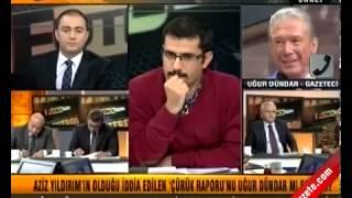 Uğur Dündar ve Mehmet Baransu Kavgası (futbolizm) CANLI
