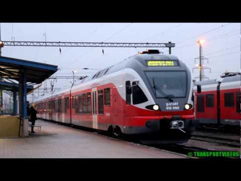Utazás FLIRT motorvonattal Veszprémből Budapestre