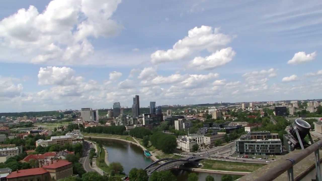 Lithuania Vilnius panorama city view - Litwa Wilno widok ...
