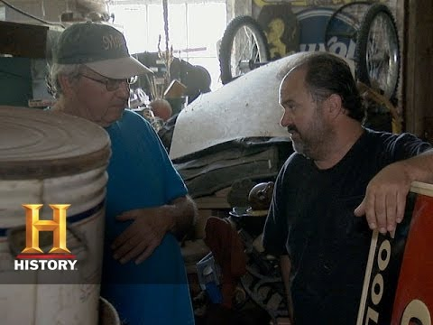 American Pickers: An Unwilling Sign Seller