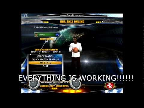 NBA 2k13 Online fix | 100% working | For FREE! | No SURVEYS! No KEYLOGS or SCAMS!