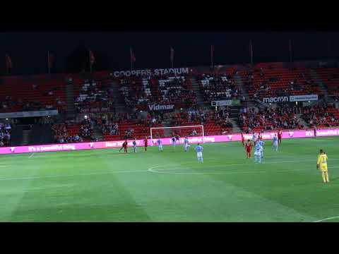 Adelaide United vs Melbourne City 16/03/2018 Paul Izzo Penalty save