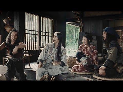 三太郎がそれぞれの親役として登場!/au三太郎CM60秒&メイキング映像