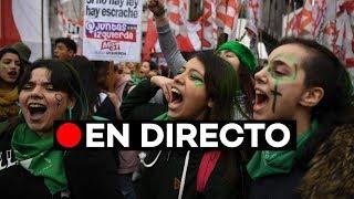 En directo: El Senado argentino vota la legalización del aborto