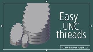 Easy UNC threads