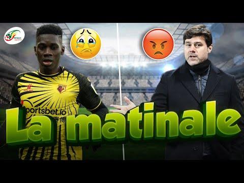 Mauvaise nouvelle pour Ismaila Sarr... La France libère les joueurs, Pochettino en colère | Matinale